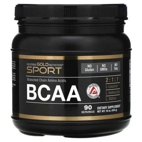 California Gold Nutrition BCAA is produced via patented Ferment-A-Pure Technology - Ultimate Sup