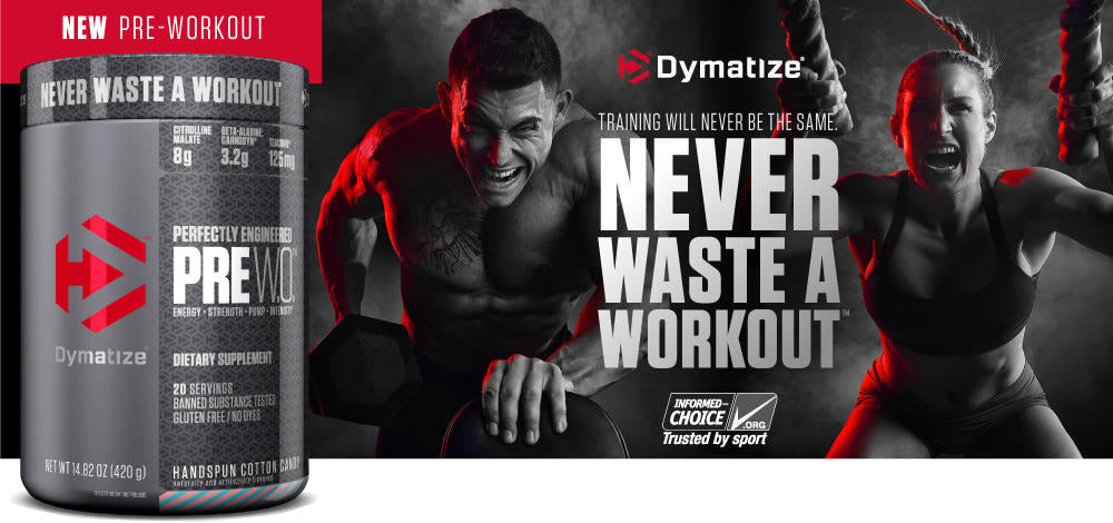 Dymatize Nutrition, Perfectly Engineered Pre WO, Pre Workout Formula, Boost Energy & Strength, Pump Muscle, 400g