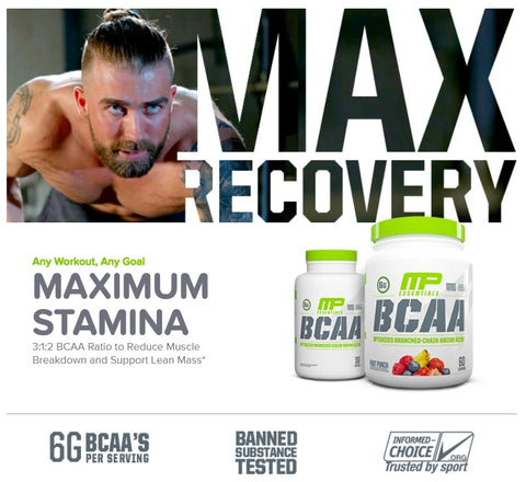 About MusclePharm BCAA Essentials - Ultimate Sup