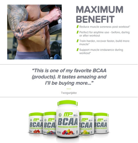 BCAA Essentials provides lots of benefits - Ultimate Sup