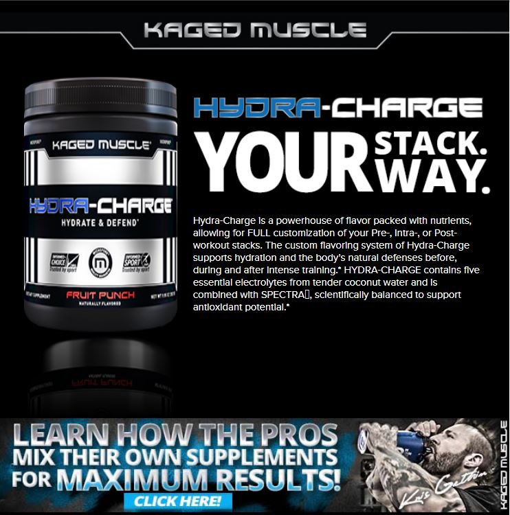 Kaged Muscle, Hydra-Charge | Hydrate & Defend Before, During, After intense training 276 g
