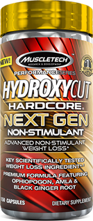 Hydroxycut Next Gen brings an excellent reputation to Muscletech - Ultimate Sup