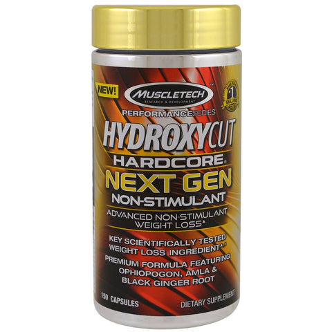 Hydroxycut Hardcore Next Gen Non-Stimulant the latest evolution of Hydroxycut - Ultimate Sup