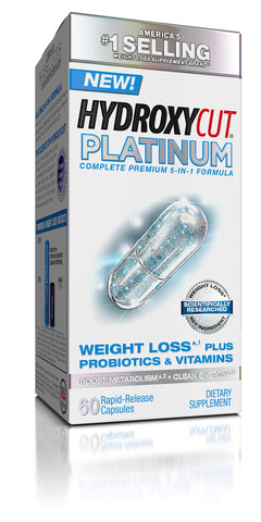 Hydroxycut Platinum with key ingredient researched to show significant results - Ultimate Sup
