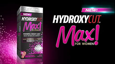 Hydroxycut Max! For Women available at Ultimate Sup