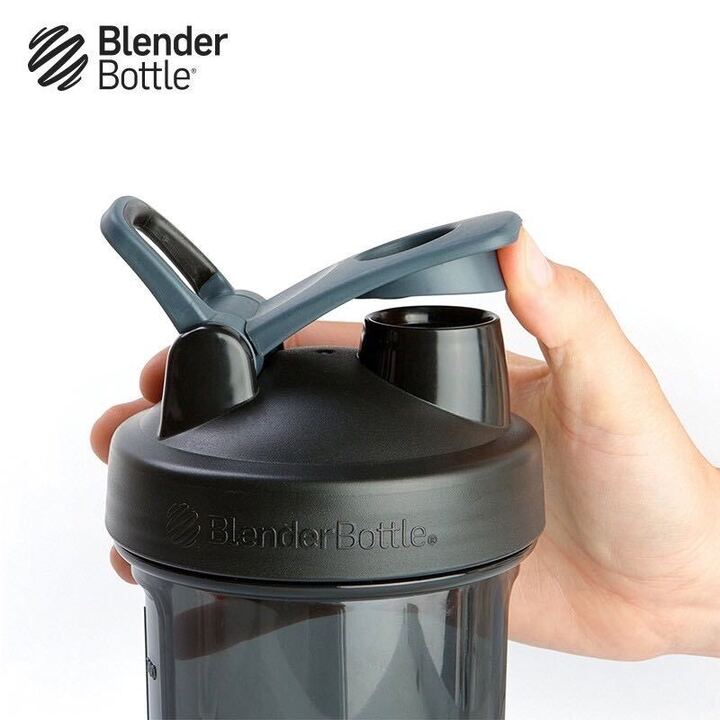 Blender Bottle Pro Series Tritan Rounded Base Anti Odor Protein Shaker, 28 oz