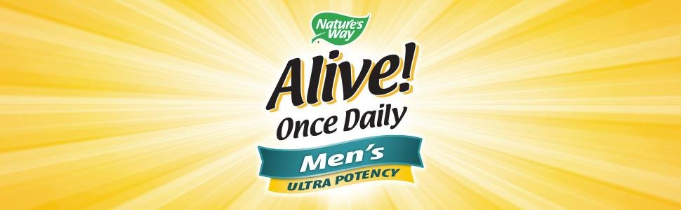 Nature Way Alive Once Daily MeN MultiVitamin 1