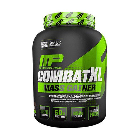 MusclePharm Combat XL is a revolutionary weight-gain product - Ultimate Sup