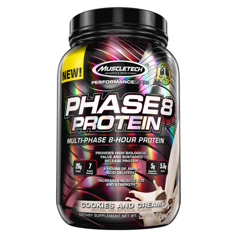MuscleTech Phase8 - Cookie and cream