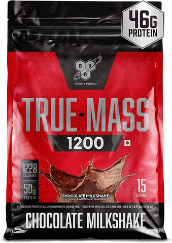 BSN True Mass 1200 is an excellent mass gainer especially suitable for lean people - Ultimate Sup