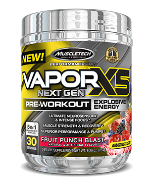 Vapor X5 Next Gen is one of the best pre-workout supplement in singapore - Ultimate Sup