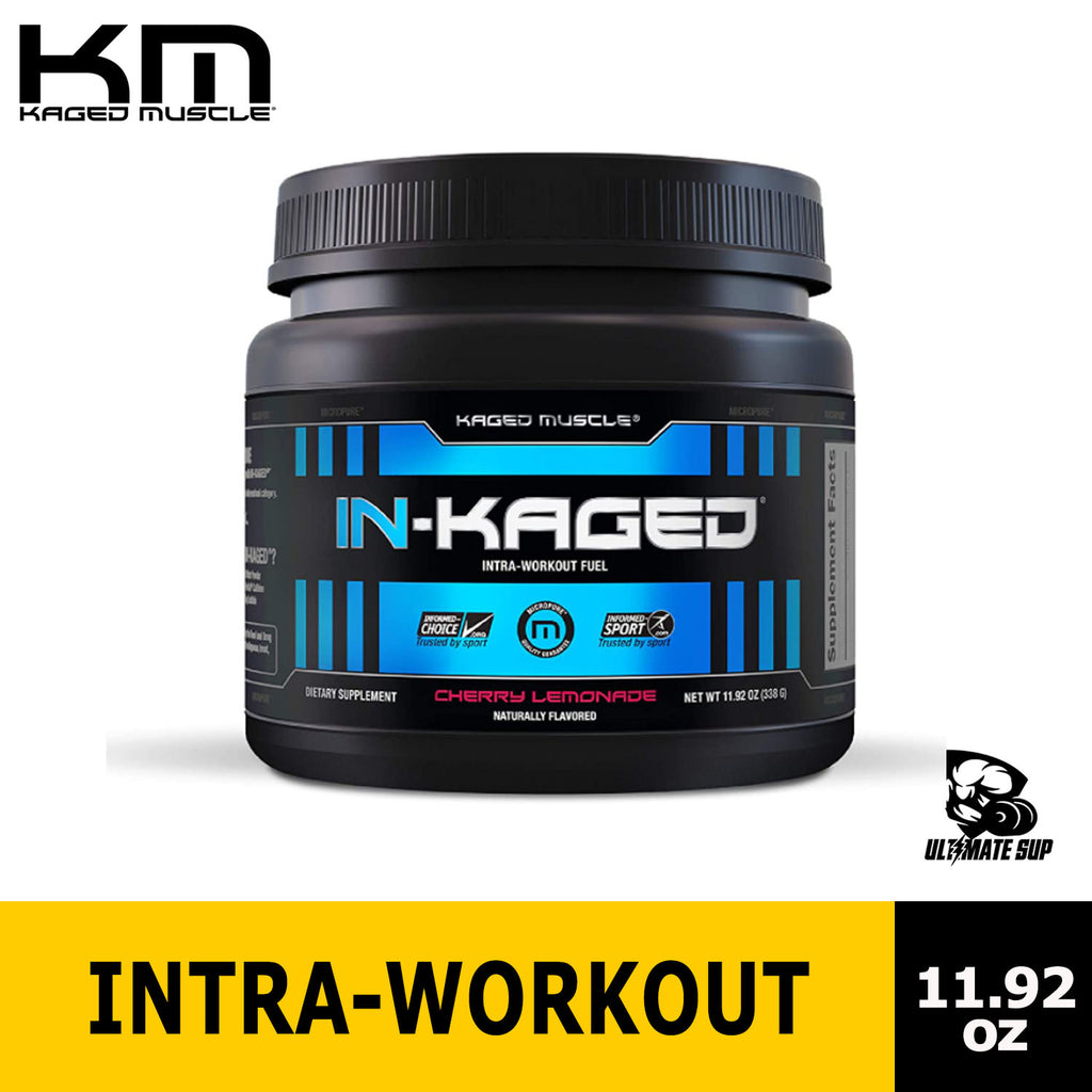 Kaged Muscle, IN-KAGED, Intra-Workout Fuel, Cherry Lemonade, 11.92 oz (338 g), Before