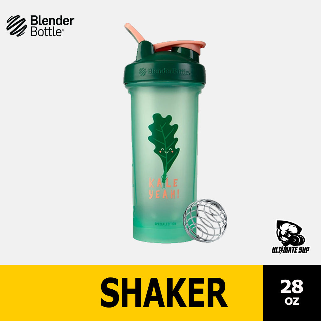 Blender Bottle Foodie Limited Edition Version 2, Shaker, Protein Shaker, Water Bottle Classic with Loop Version 2, Tumbler Various Colors, 28oz