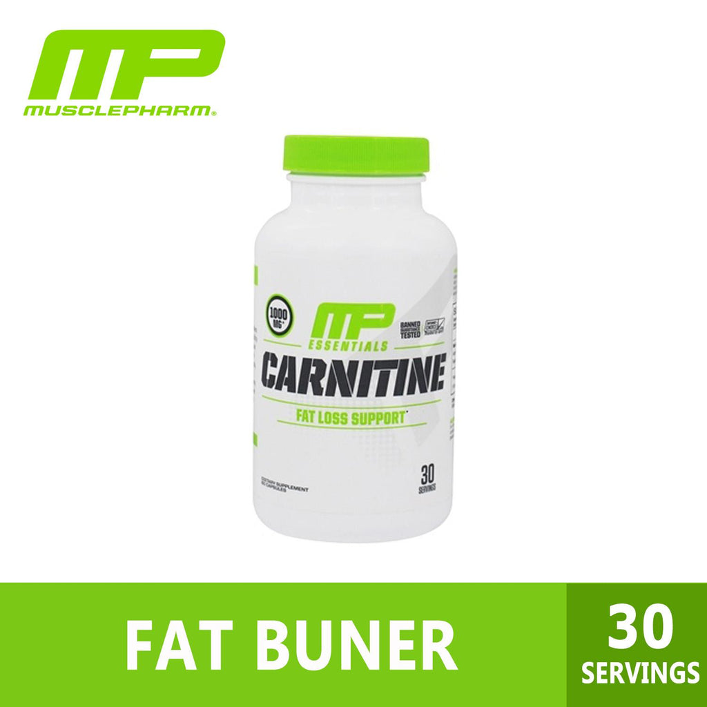 MusclePharm, Essentials, Carnitine, 1000 mg, 60 Capsule, Ultimate Sup