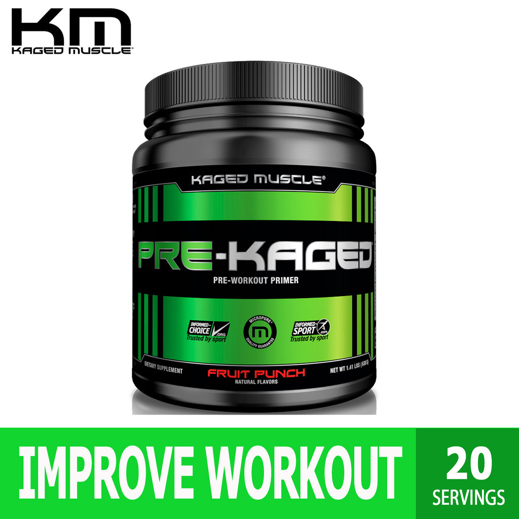 Kaged Muscle, Pre-Kaged, Pre-Workout Primer, Workout Support, 1.41 lbs (640 g), Ultimate Sup