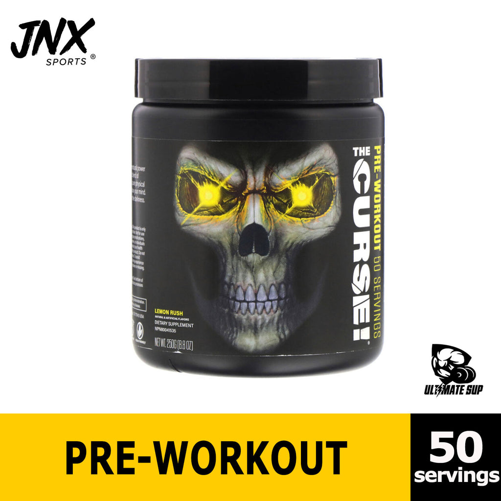 JNX Sports, The Curse, Pre Workout, Before