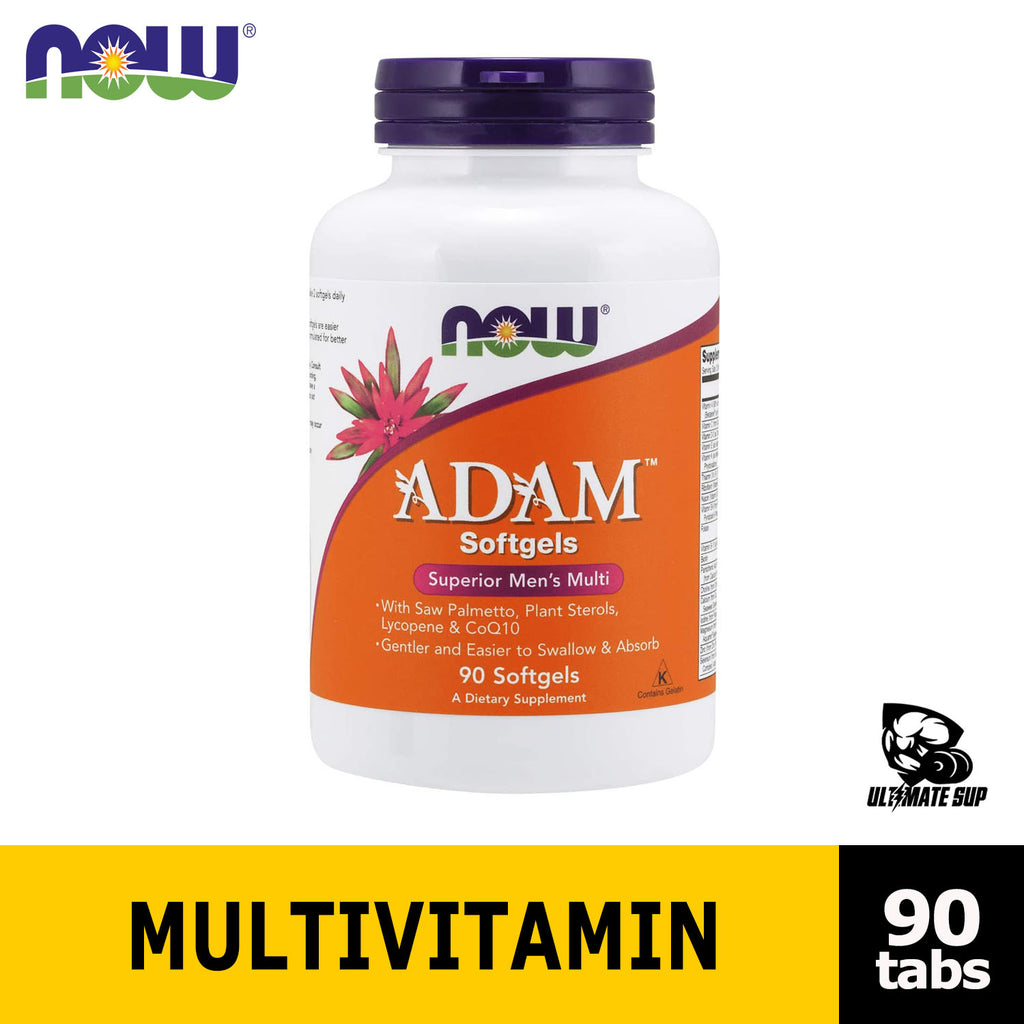 Now Food Adam Multivitamin Before