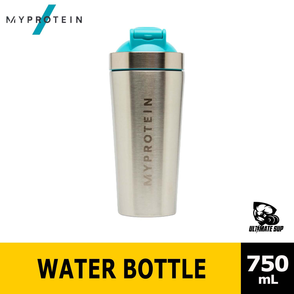 Myprotein Metal Shaker, Stainless Steel Bottle 750ml - Ultimate Sup