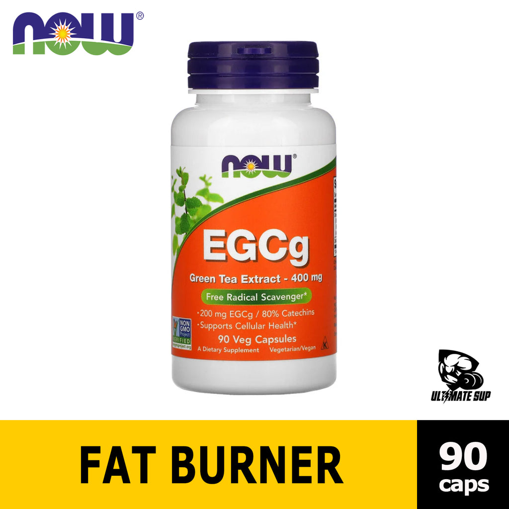Now Foods, EGCg, Green Tea Extract helps Weight Management, Fat Burner, 400 mg - Ultimate Sup