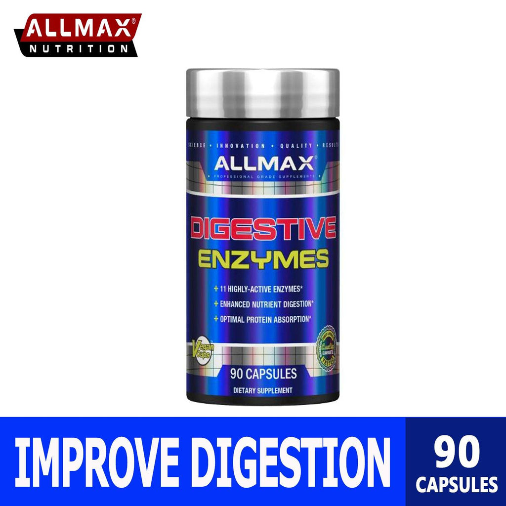 Allmax Nutrition Digestive Enzymes and Protein Optimizer 1.1 - Ultimate Sup