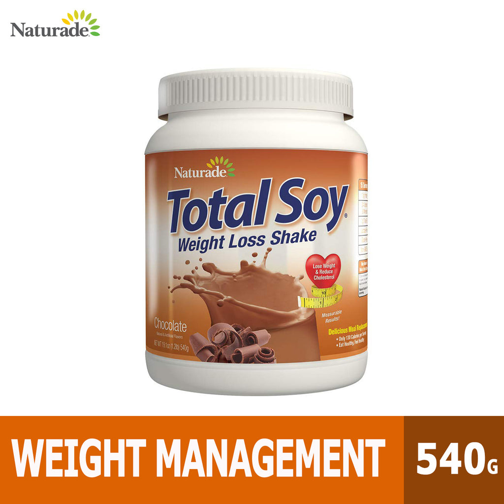 Naturade, Total Soy, Weight Loss Shake, Weight Management, 540g, Ultimate Sup