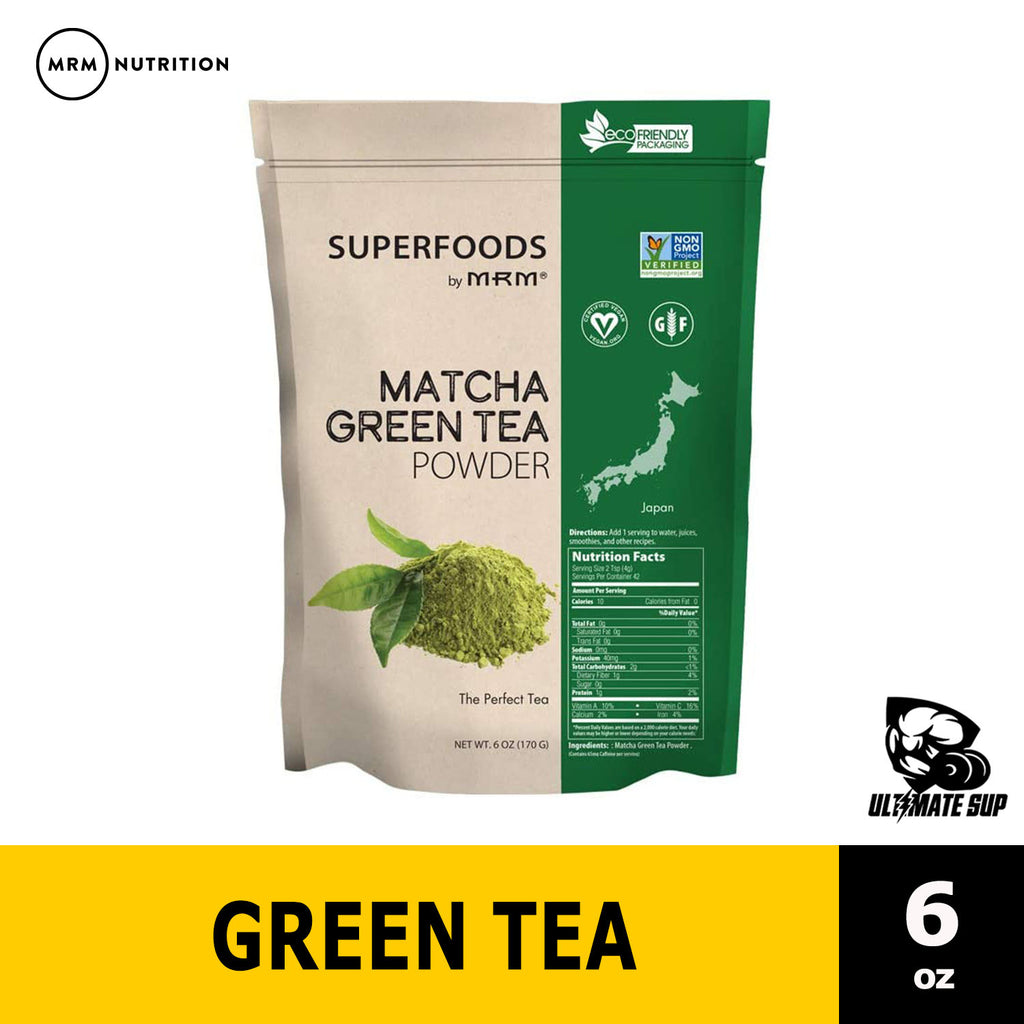MRM, Matcha Green Tea Powder, 6 oz (170 g) Ultimate Sup