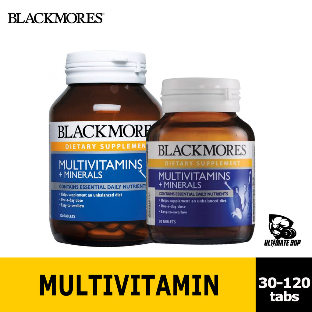 Blackmores Multivitamins + Minerals | Improve Immunity - Ultimate Sup