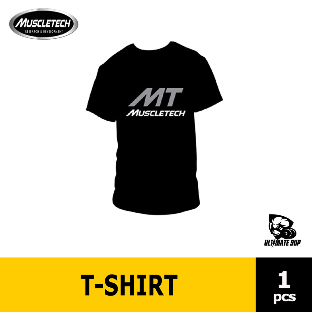 Muscletech Logo T Shirt | Gym Wear | Training Accessories - Ultimate Sup