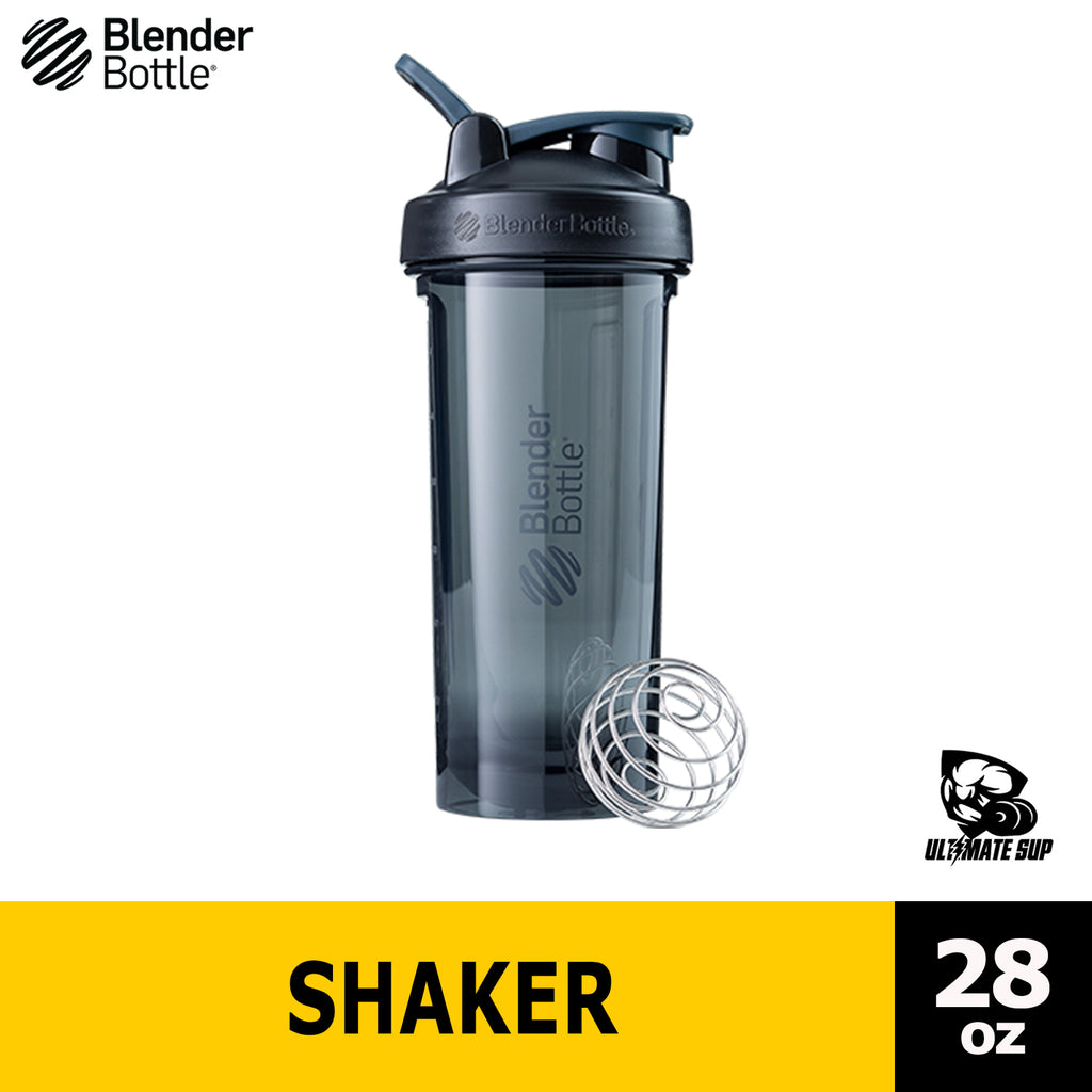 Blender Bottle Pro Series Tritan Rounded Base Anti Odor Protein Shaker, 28 oz - Ultimate Sup