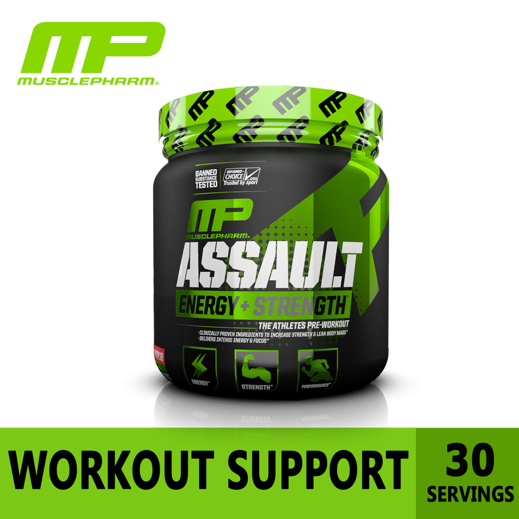 MusclePharm, Assault, Pre-Workout, 333g, Ultimate Sup