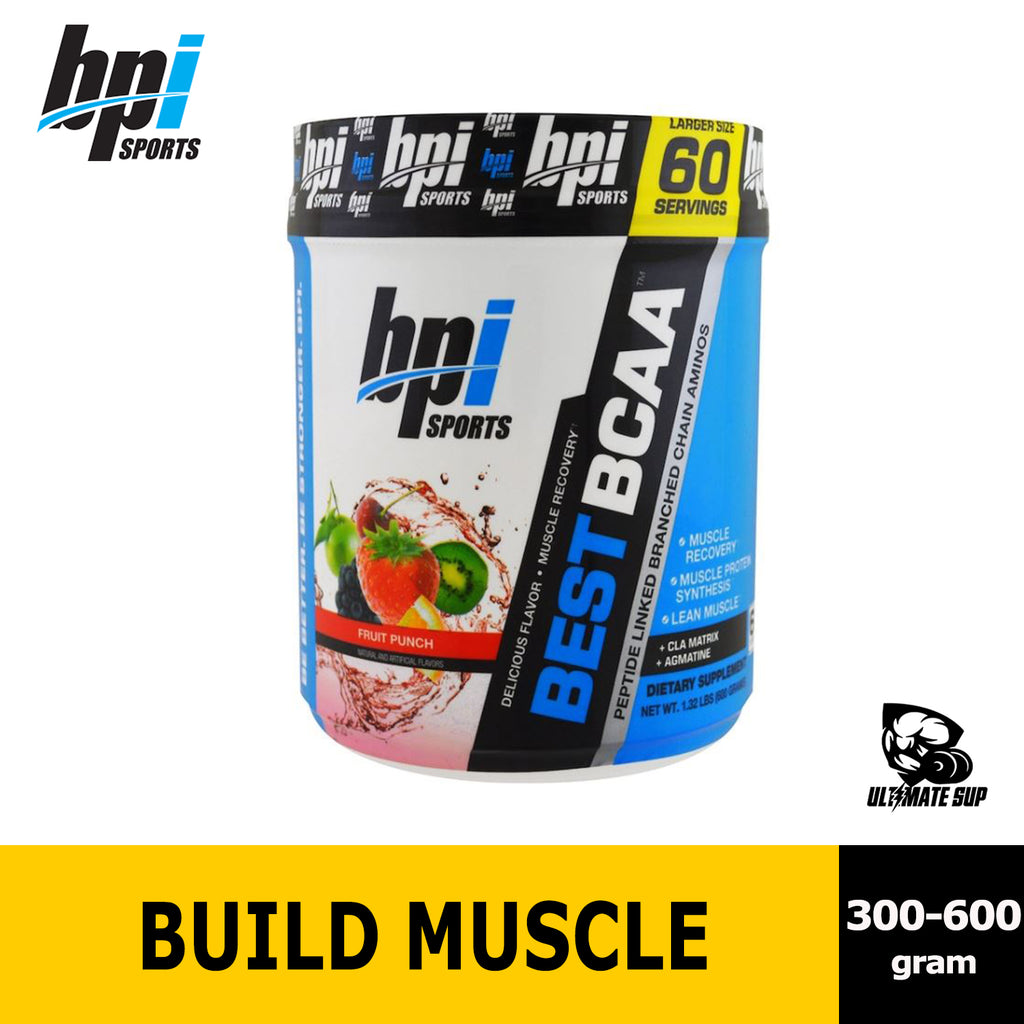 BPI Sports, Best BCAA support Muscle Recovery | Protein Synthesis | Build Lean Muscle - Ultimate Sup