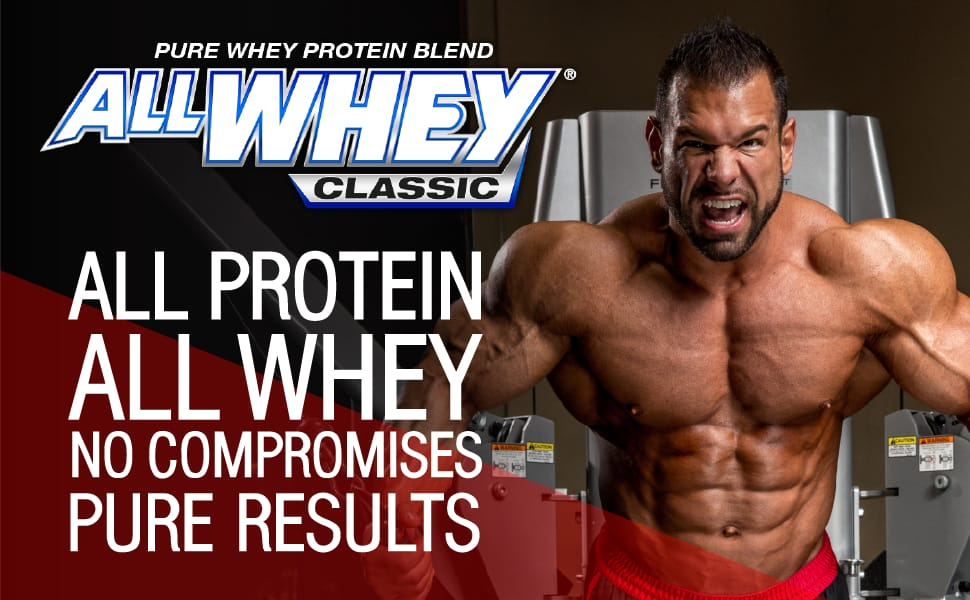 ALLMAX Nutrition, AllWhey Classic, 100% Whey Protein Powder helps Build Muscle, 5 lbs