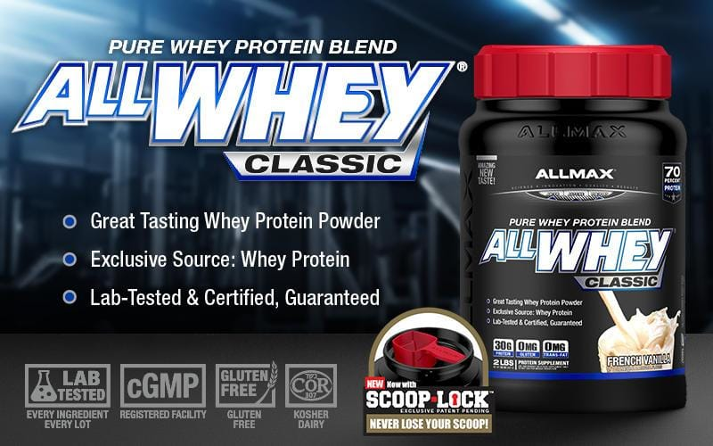 ALLMAX Nutrition, Isoflex, Pure Whey Protein Isolate to Build Muscle, 5 lbs