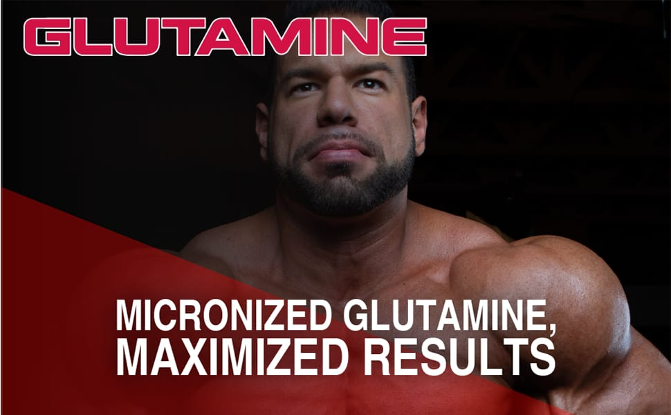 ALLMAX Nutrition, 100% Pure Micronized Glutamine helps Build Muscle & Recovery