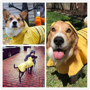 Dog Raincoat Reflective and Waterproof