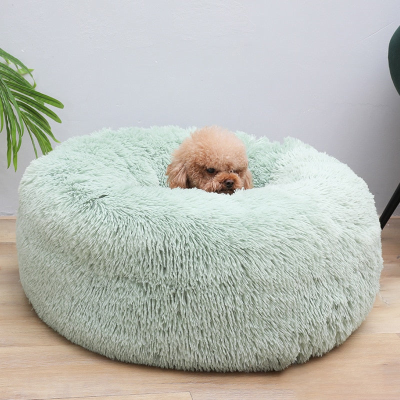 Soft Plush Pet Dog Bed