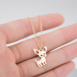 Chihuahua Pendant Necklace