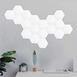 Touch Sensitive Hexagonal Lamps Modular