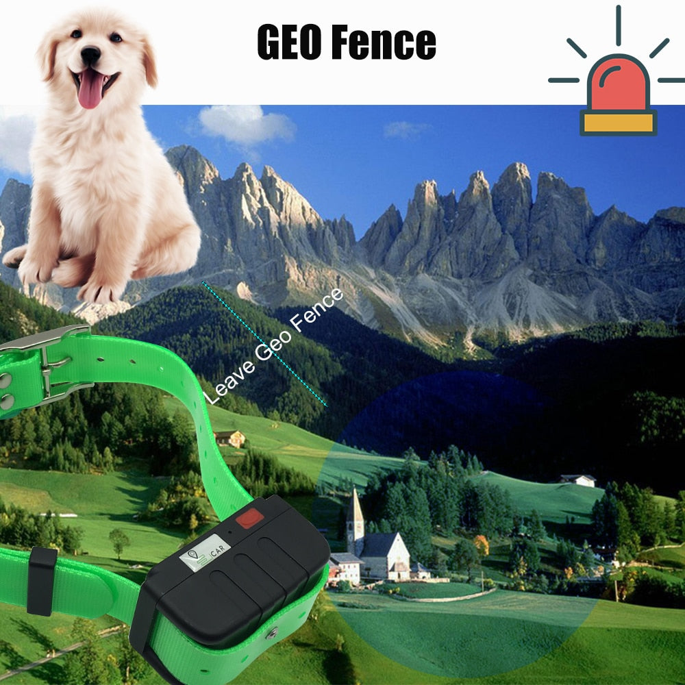 Waterproof GPS Dog Tracking Collar