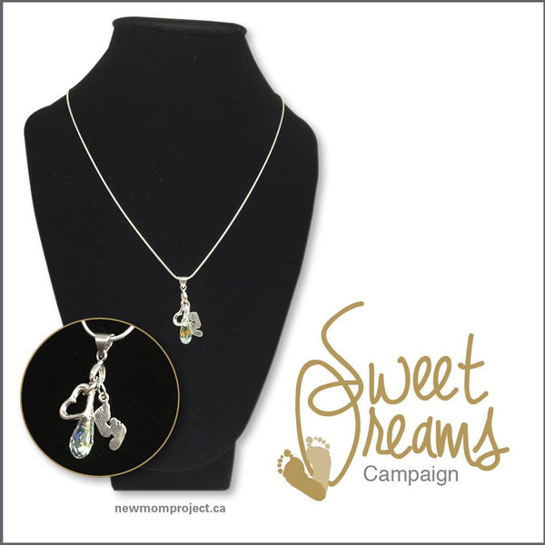 New Mom Project Sweet Dreams Charm Necklace