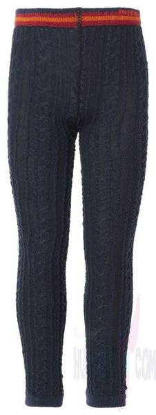 Cable knit ankle leggings - noppies