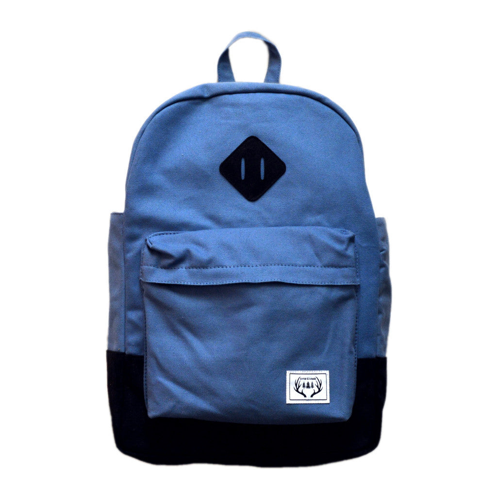 THE ROAMER BACKPACK - STEEL BLUE - This Little Piggy Shop