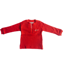 Red Long-sleeve Sweater - This Little Piggy Shop
