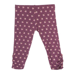Leggings with Heart Buttons - This Little Piggy Shop - 2