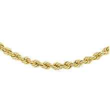 Load image into Gallery viewer, 9ct Yellow Gold Rope Chain
