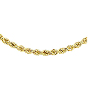 9ct Yellow Gold Rope Chain