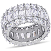 Load image into Gallery viewer, 19ct CZ Full Eternity Ring