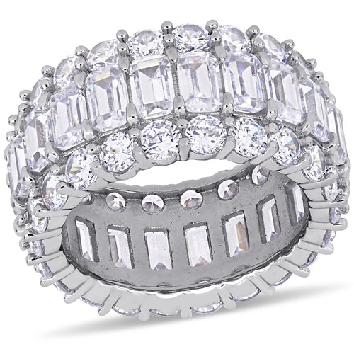 19ct CZ Full Eternity Ring