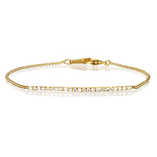 Romi Gold on Sterling Silver Bracelet