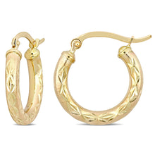 Load image into Gallery viewer, 10k Yellow Gold Cleopatra Earrings